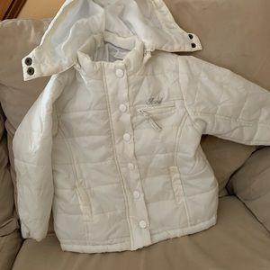 White izod coat size 2t